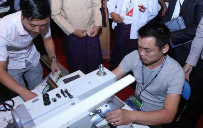 Courtesy: Myanmar International Textile & Garment Industry Exhibition