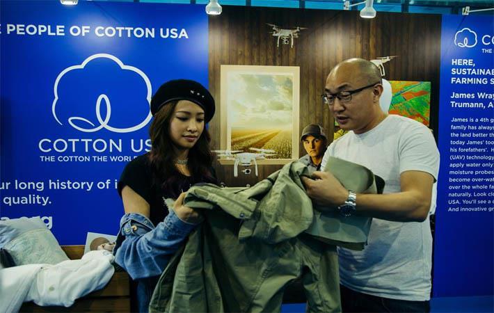 Cotton USA promotes cotton at TITAS Taiwan tradeshow