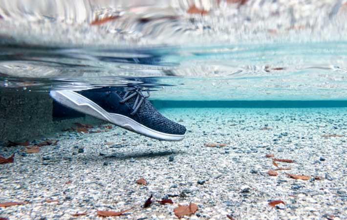 Vessi unveils waterproof knit shoe on Kickstarter
