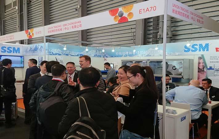 SSM launches new products at ShanghaiTex 2017