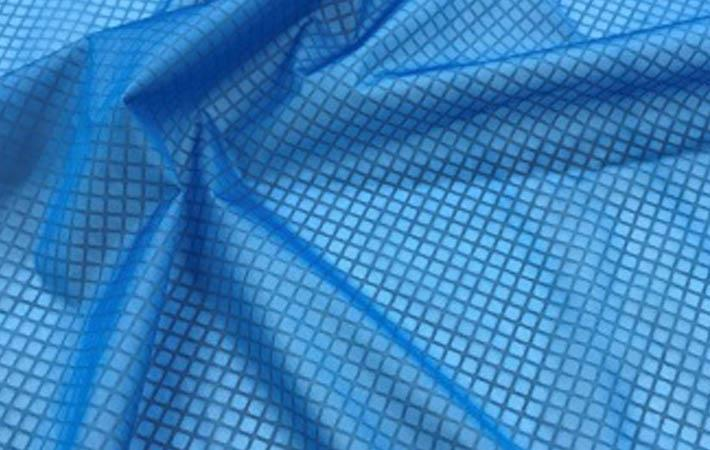 Teijin makes knitting material with breathable film