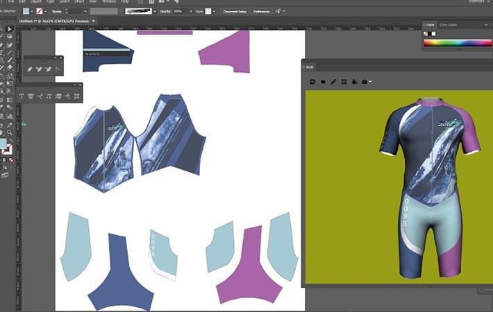EFI Optitex unveils 3D Design Illustrator for garments
