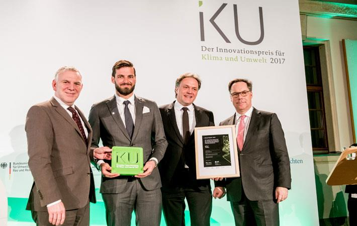 Mayer & Cie bags IKU award for spinitsystems