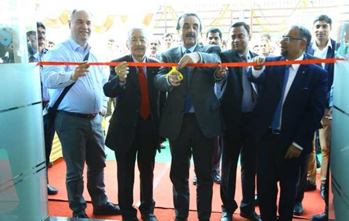 Fabio Passuello inaugurating the facility. Courtesy: Riello Power India Pvt Ltd