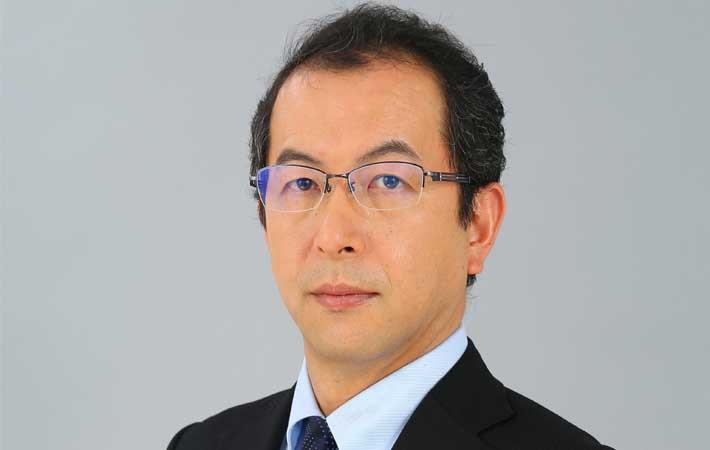 Managing director Akihiko Tanaka
