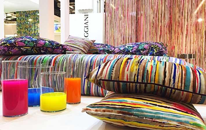Imaging possibilities with EFI printers at Heimtextil