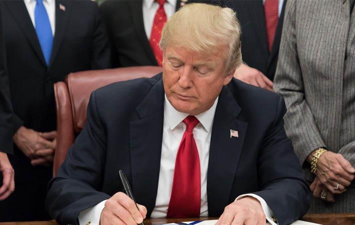 US President Donald Trump; Courtesy: White House