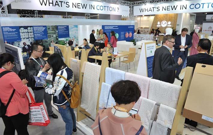 Cotton USA shows new technologies at Intertextile Shanghai