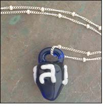 daa glass launches Charming Dreidel Necklace