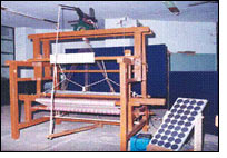 ATIRA develops solar power operated dobby shaft selection system for handlooms