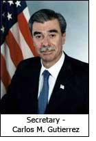Secretary - Carlos M. Gutierrez
