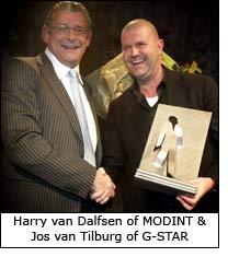 Harry van Dalfsen of MODINT & Jos van Tilburg of G-STAR