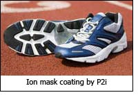 Ion mask coating by P2i