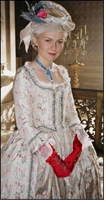 Rubelli Fabrics dress Oscar winner Marie Antoinette
