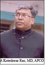 A Koteshwar Rao, MD, APCO