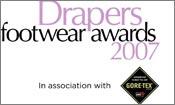 Winners of Drapers Footwear Awards 2007 announced