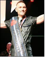 Mikel Gerle named Int Mr. Leather 2007