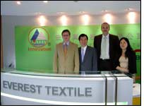 Everest Textile performs bluesign screening