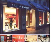Aaron Basha opens first boutique in Asia