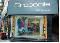 Salem, Coimbatore & New Delhi to have Crocodile stores