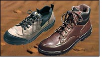 Saudi Leather develops safety footwear with non-metallic caps