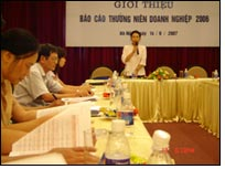 VCCI releases Vietnamese Enterprises annual report 2006