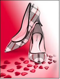 Win your love with GEOX timeless court shoes