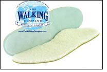 Walking Company's new Customized Shearling Insole