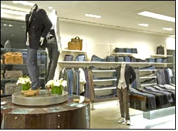 7 For All Mankind latest collection at LA 1st retail store