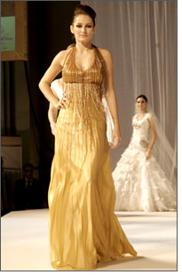 Number of fashion shows at The Bride Show Abu Dhabi