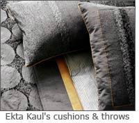 Ekta Kaul cushions & throws