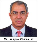 Mr. Deepak Khetrapal