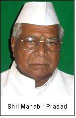 Shri Mahabir Prasad