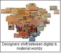 Designers shift between digital & material worlds