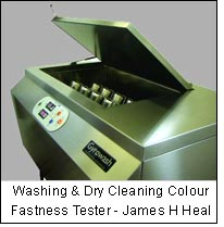 Washing & Dry Cleaning Colour Fastness Tester - James H Heal