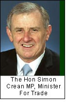 The Hon Simon Crean MP, Minister For Trade