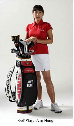 Golf Player Amy Hung