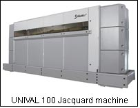 UNIVAL 100 Jacquard machine