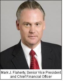 Mark J. Flaherty, Senior Vice President and Chief Financial Officer