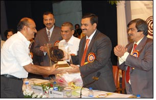 Sahajanand Technologies wins Golden Jubilee Award'06-07