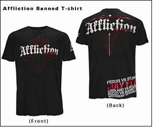 Buckle & Affliction Partner in promoting 'Affliction Banned' event