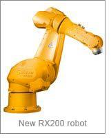 New RX200 robot