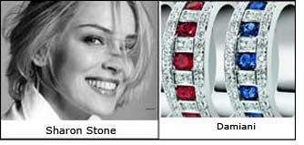 Sharon Stone to endorse Italian jewelry from Damiani