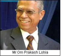 Mr Om Prakash Lohia