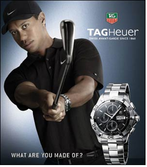 Super-star caddy Steve Williams to sport TAG Heuer golf watch
