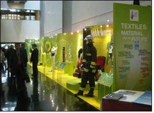 Evolon textile digital printing exhibited at European Parliament