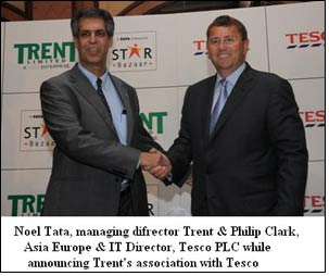 Trent enters into exclusive franchise agreement with Tesco