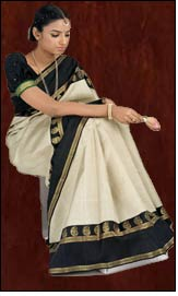 Traditional Nalli embraces a modern look!