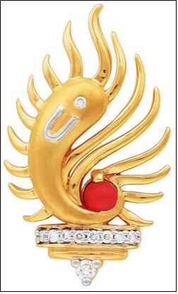 Raviswaroopa Ganesha Pendant from ORRA