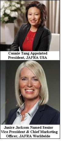 JAFRA Cosmetics strengthens leadership team